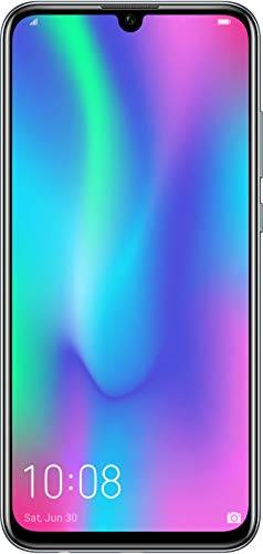 Honor 10 Lite 64 GB Smartphone BUNDLE (16,5 cm (6,21 pollici), doppia fotocamera, Dual SIM, Android 9.0) Midnight Black + gratis Honor Flip Protective Cover [esclusiva su Amazon] – Versione tedesca