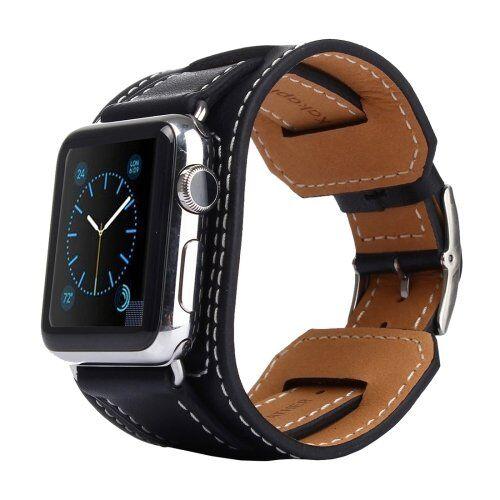 apple watch cinturino originale nero 42 mm genuine tpu clip