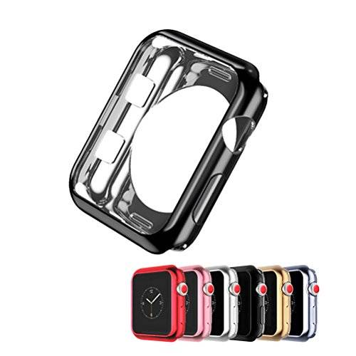 kwmobile crystal hardcase apple watch 38mm rosa protezione 3