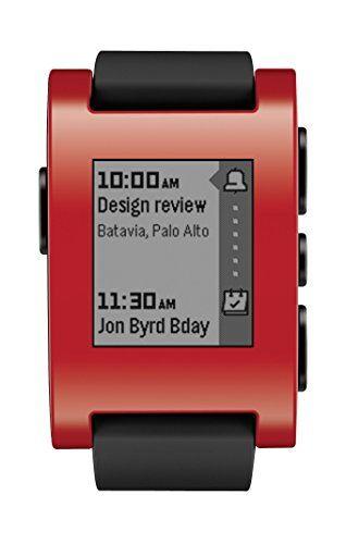 pebble smartwatch nero