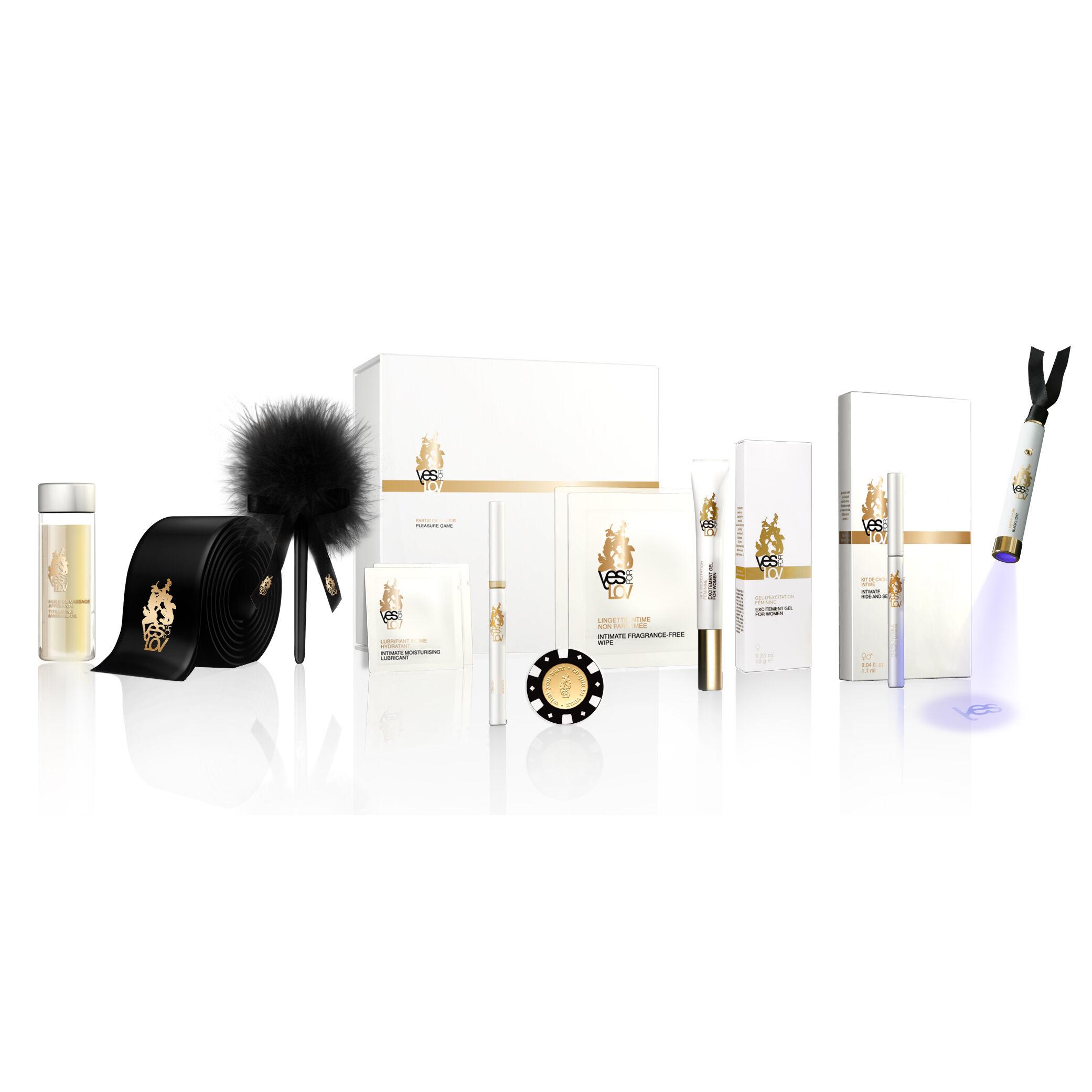 yesforlov mission irresistible box - kit del piacere