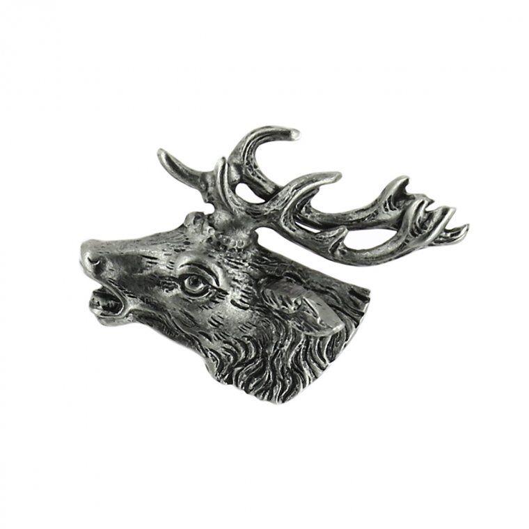 HUTTER Accessorio per cappelli motivo cervo