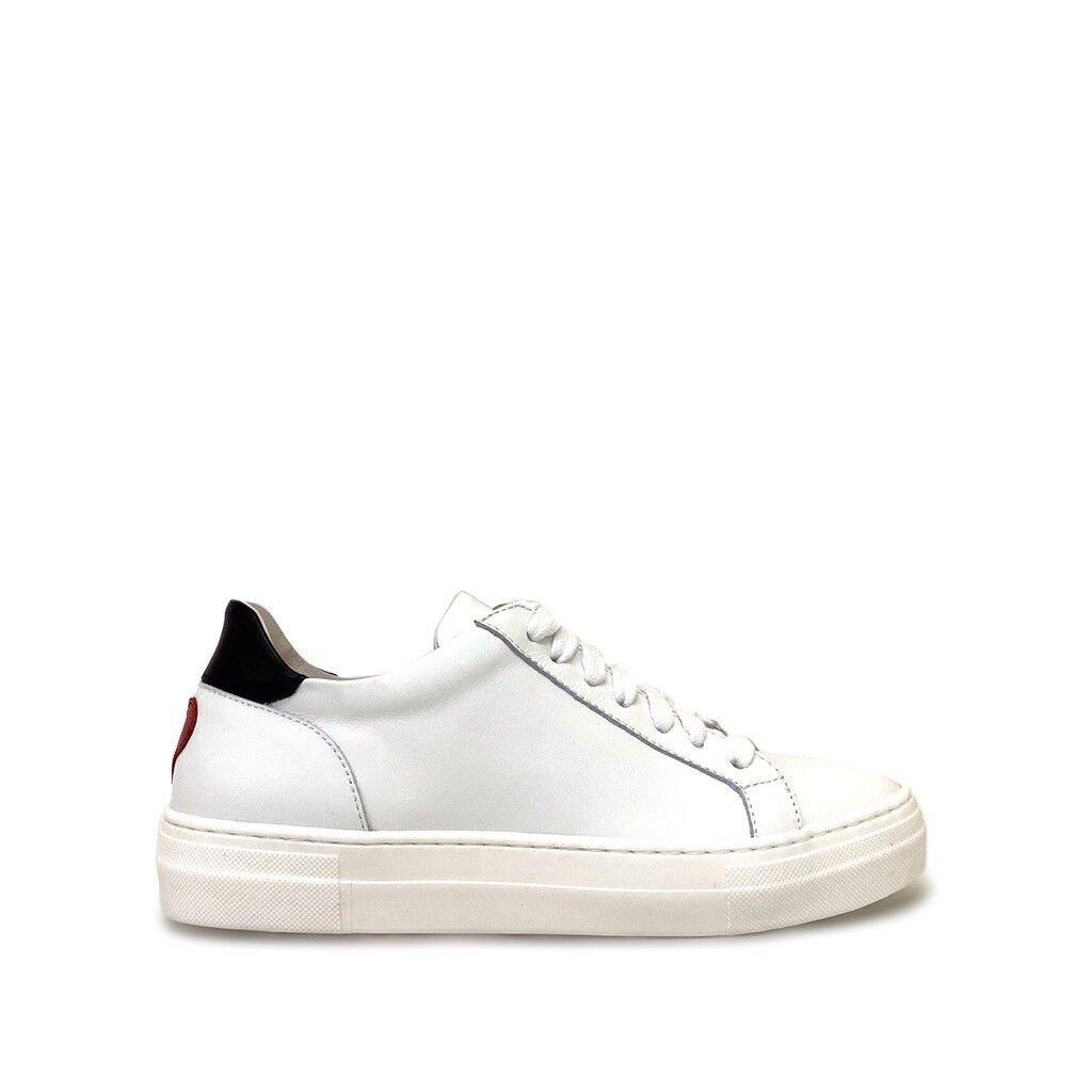 shoe gar sneakers mini cuore rosso