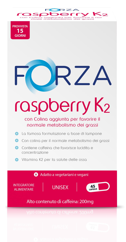 forza-supplementsit FORZA Raspberry K2 - Chetone di Lampone - 45 capsule - B2B