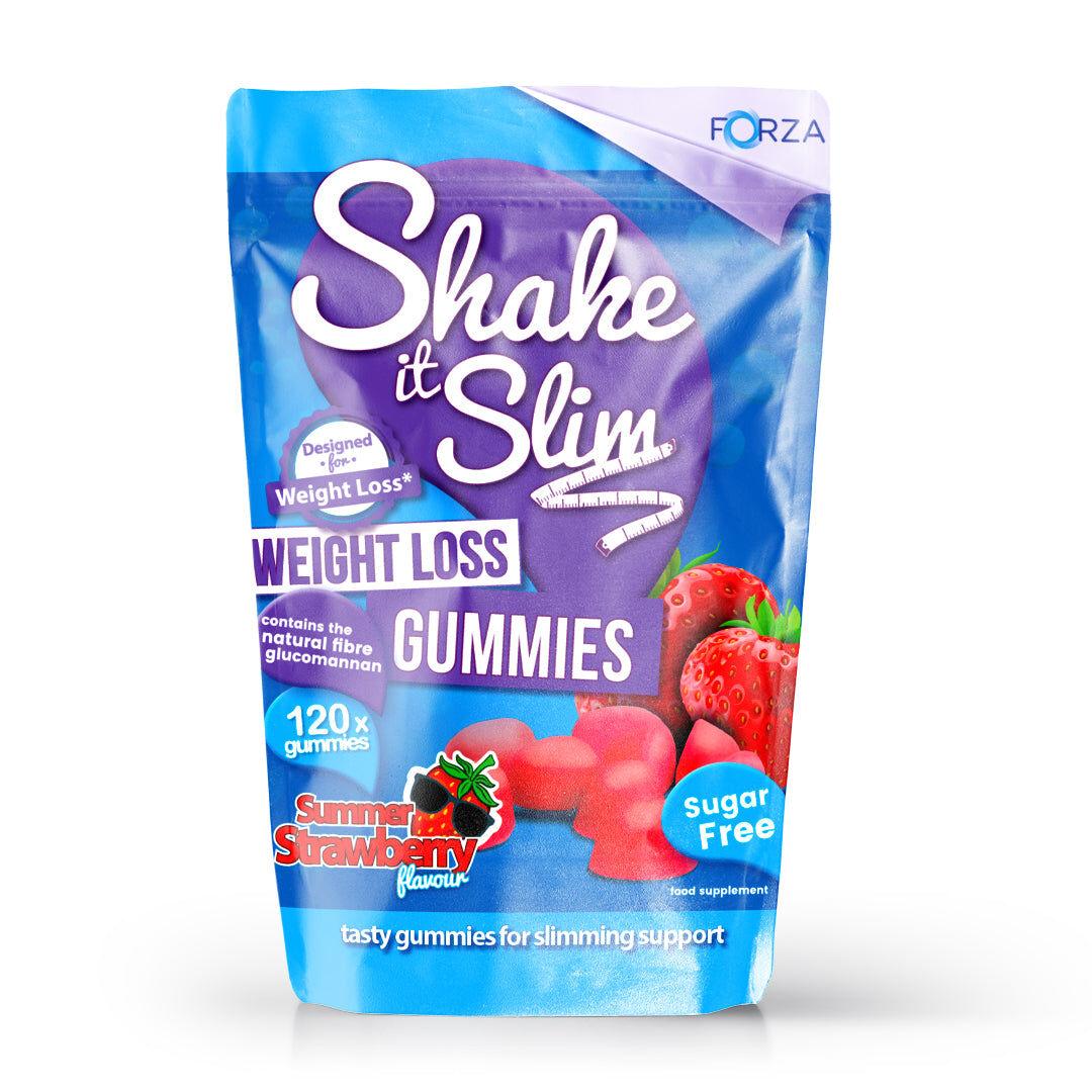 forza integratori forza shake it slim caramelle gommose per perdita di peso - 120 pezzi