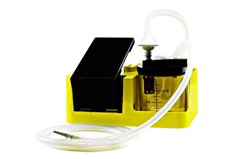 spencer res-q-vac - aspiratore manuale di secreti giallo