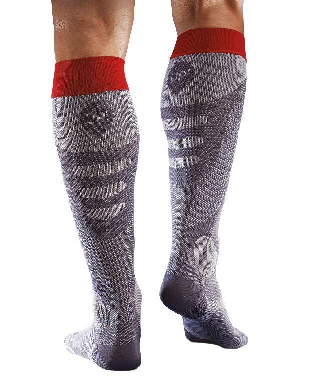 thuasne calze sportive di recupero a compressione degressiva per stimolazione ritorno venoso - up