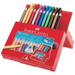 Faber Castell Kit creativo Faber-castell jumbo grip - pastello colorato (pacchetto di 22) 110913