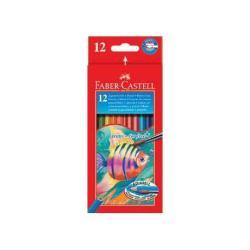 Faber Castell Pastelli Faber-castell - pastello colorato (pacchetto di 12) 114413
