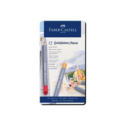 Faber Castell Matita Faber-castell goldfaber aqua - matita acquerellabile (pacchetto di 12) 114612