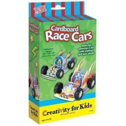 Faber Castell Cardboard race cars