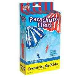 Faber Castell Kit creativo Parachute Fliers - Paracadute da colorare