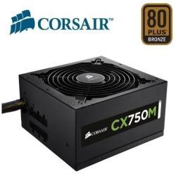 Corsair Alimentatore PC Cx-m series cx750m - 2015 edition - alimentazione - 750 watt cp-9020061-eu