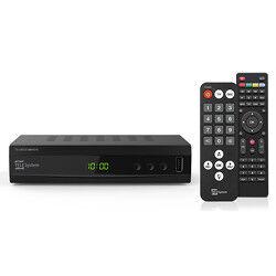 Telesystem Decoder digitale terrestre e satellitare TS UP 4K DVB-T2