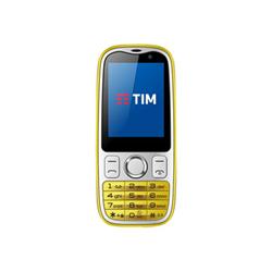 TIM Smartphone Easy 4G Giallo 2 GB Single Sim Fotocamera 2 MP