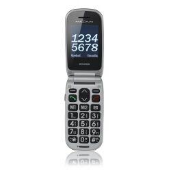 Brondi Telefono cellulare Amico flip+ nero
