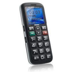 Brondi Telefono cellulare AMICO SEMPLICE+ NERO