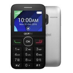 Alcatel Telefono cellulare One Touch 2008G Black-Metal Silver