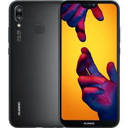 Huawei Smartphone P20 lite Nero 64 GB Dual Sim Fotocamera 16 MP