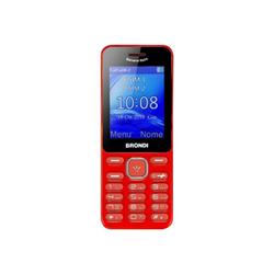 Brondi Telefono cellulare Banana Split Rosso