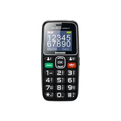 Brondi Telefono cellulare Amico unico - nero - 32 mb - gsm - cellulare 10276090