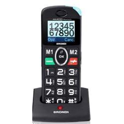 Brondi Telefono cellulare Amico pratico - nero - gsm - cellulare 10275060