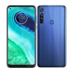 Motorola Smartphone Moto G8 Neon Blue 64 GB Dual Sim Fotocamera 16 MP