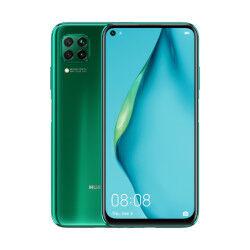 Huawei Smartphone P40 Lite Crush Green 128 GB Dual Sim Fotocamera 48 MP