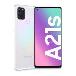 Samsung Smartphone Galaxy A21s Bianco 32 GB Dual Sim Fotocamera 48 MP