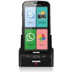 Brondi Smartphone Amico Smartphone 4G Nero 4 GB Dual Sim Fotocamera 5 MP