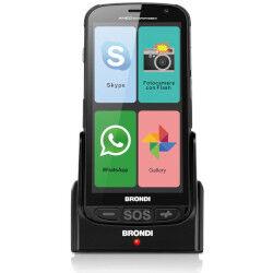 Brondi Smartphone Amico Smartphone+ Nero 4 GB Dual Sim Fotocamera 5 MP