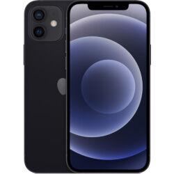 Apple Smartphone iPhone 12 5G Black 256 GB Single Sim Fotocamera 12 MP