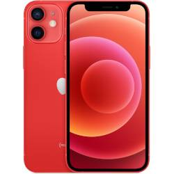 Apple Smartphone iPhone 12 mini 5G (Product) Red 128 GB Single Sim Fotocamera 12 MP