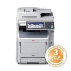Oki Multifunzione laser Mb760dnfax - stampante multifunzione - b/n 45387104