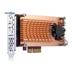 Qnap Controller raid Storage controller - pcie 3.0 - pcie 3.0 x8 qm2-2p-384
