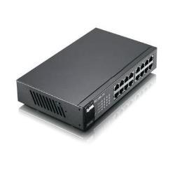 Zyxel Switch Es-1100-16p - switch - 16 porte - unmanaged es1100-16p-eu0102f