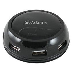 Atlantis Land Hub Hub 7 porte usb 2.0 alimentato p014-gh902-b