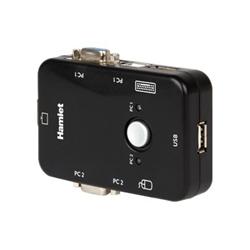 Hamlet Smart control switch - switch kvm - 3 porte hnkvm3u