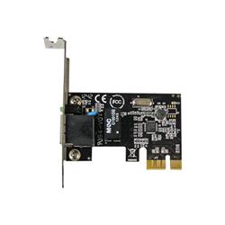 Startech Adattatore di rete .com scheda di rete pcie a 1 porta - basso profilo st1000spex2l