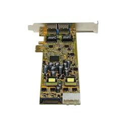 Startech Adattatore di rete .com adattatore scheda di rete pcie ethernet gigabit pci express a due