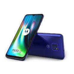 Motorola Smartphone Moto G9 Play Blu 64 GB Dual Sim Fotocamera 48 MP