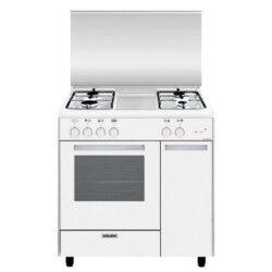 Glem Gas Cucina a gas AS854GX Forno a gas Piano cottura a gas 80 cm