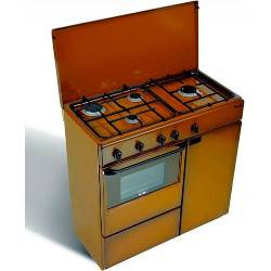 Bompani Cucina a gas BI 961 YA/L Forno a gas Piano cottura a gas 85 cm