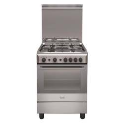 Hotpoint Ariston Cucina a gas H6GG1F (X) IT Forno a gas Piano cottura a gas 60 cm
