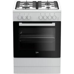 Beko Cucina a gas FSST62110DW Forno elettrico Piano cottura a gas 60 cm