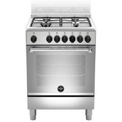 La Germania Cucina a gas AMN664EXV Forno elettrico Piano cottura a gas 60 cm