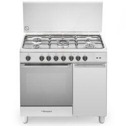 Bompani Cucina a gas BO943CF/L Forno elettrico Piano cottura a gas 90 cm