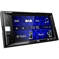 JVC Autoradio Ricevitore dvd - schermo 6.2 pollici - unit� centrale fissa kw-v255dbt