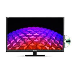 Sharp TV LED Smart LC-24CHG6002E HD Ready lettore DVD