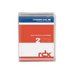 Tandberg Supporto storage Overland  rdx quikstor - rdx x 1 - 2 tb 712880987318